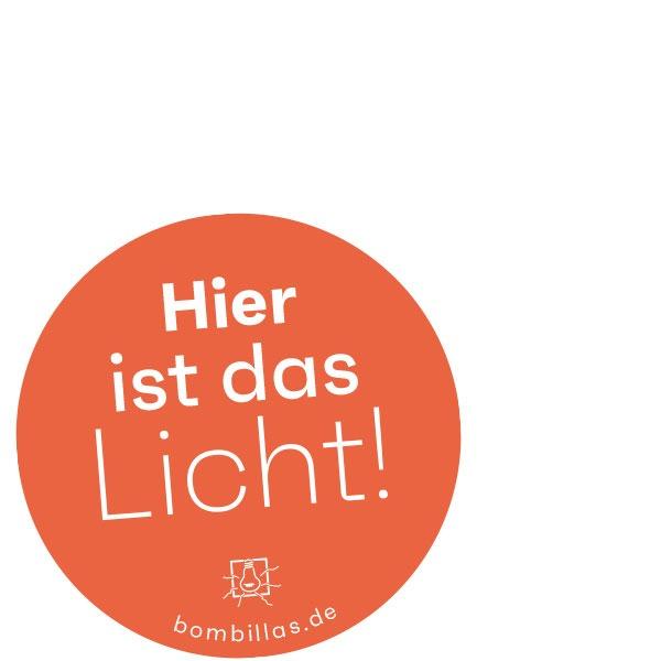 Hier ist das Licht!